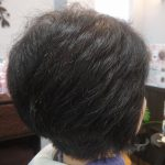 やはり、クセ毛が跳ねないようにしてください(;^_^A