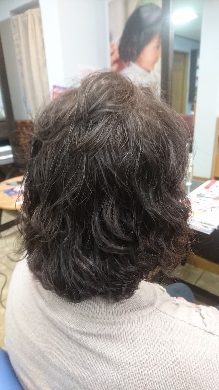 エイジングケア-髪も頭皮も継続は力なり・・・(◎>∀<◎)