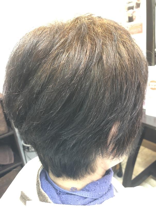 ヘナのおかげで、髪がしっかりしてきました (v^-^v)♪