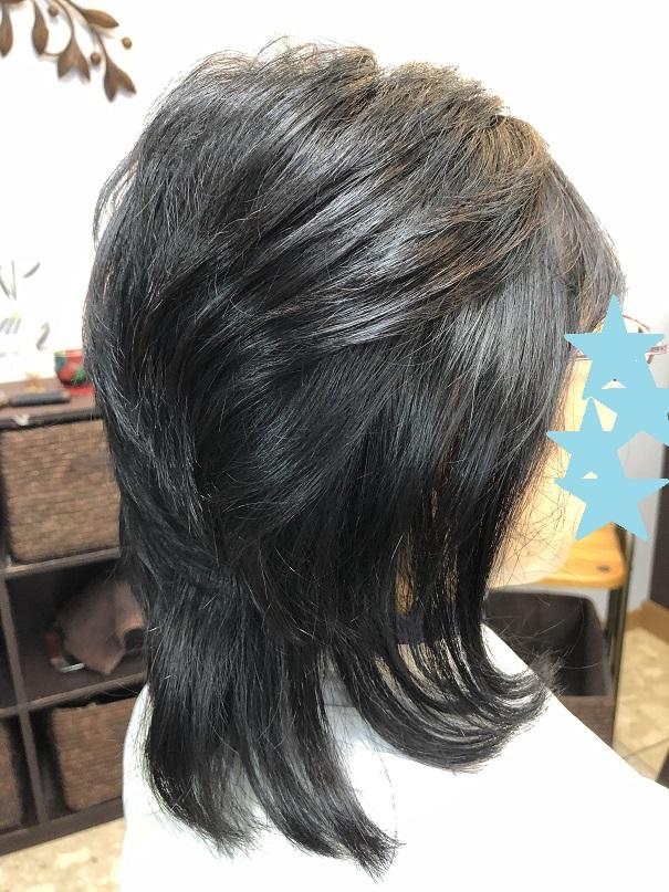 くせ毛でも髪が流れますか?・・・