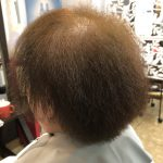 ヘナとキュビズムカットで髪質改善していきます