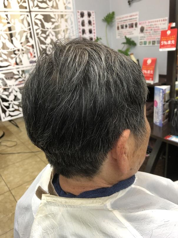 このカットって、髪乾かすだけで形整うのよね~ (o^-^o)