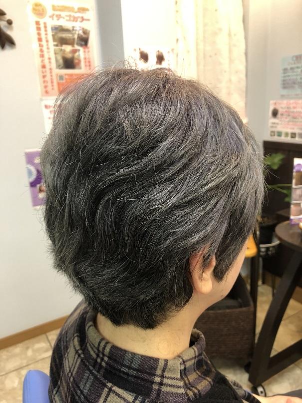 カットだけで修正出来るくせ毛の広がり、ゼッペキや頭の凸凹!!