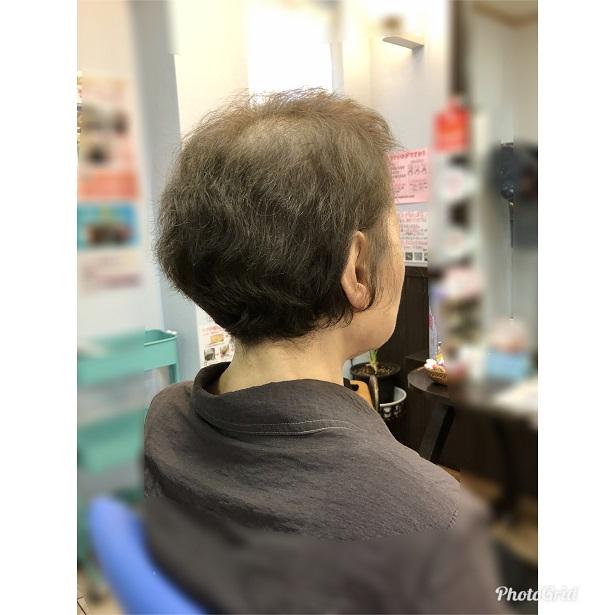 くせ毛を改善させて、芯からキレイな髪へ
